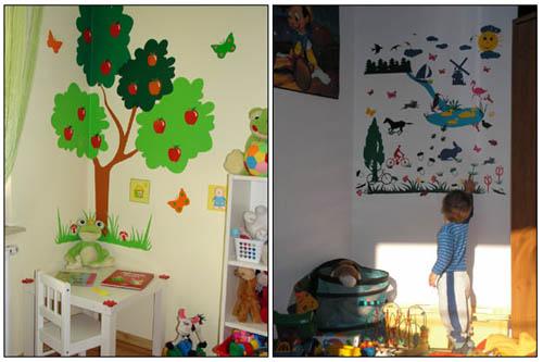 Украсить детскую комнату своими руками с фото - Ванильный Носорог