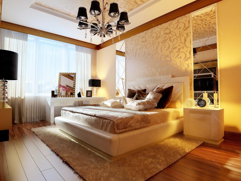 Интересные женские дизайны спален 76