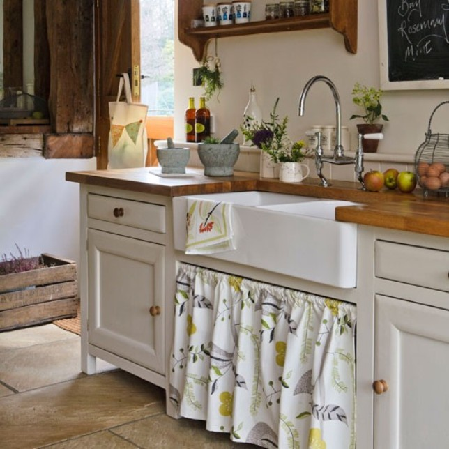 Кухня в стиле кантри своими руками фото
