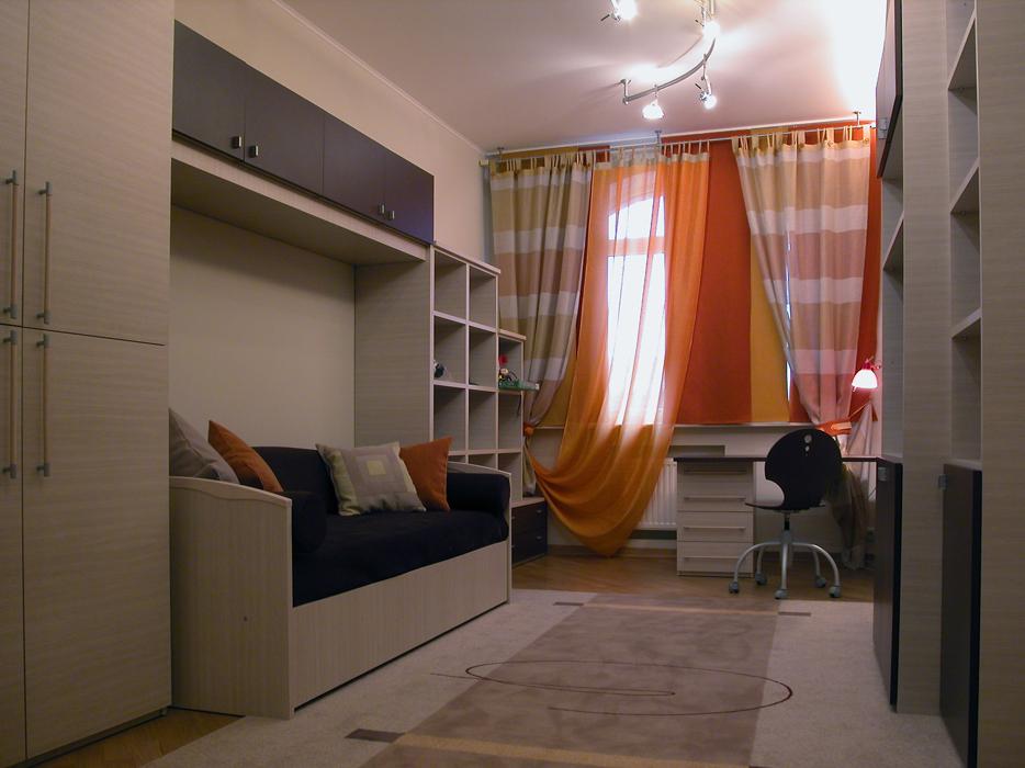 Дизайн комнаты 11 кв м мальчик подростку.