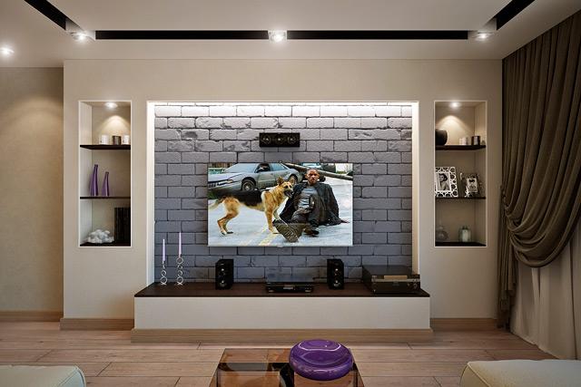 Дизайны телевизионных зон