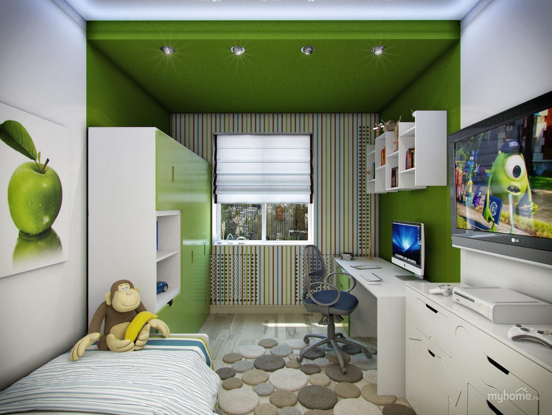 Дизайн комнаты для девочки и мальчика 12 кв.м