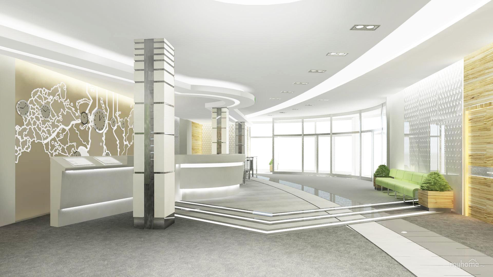 Интерьеры холлов общественных зданий фото