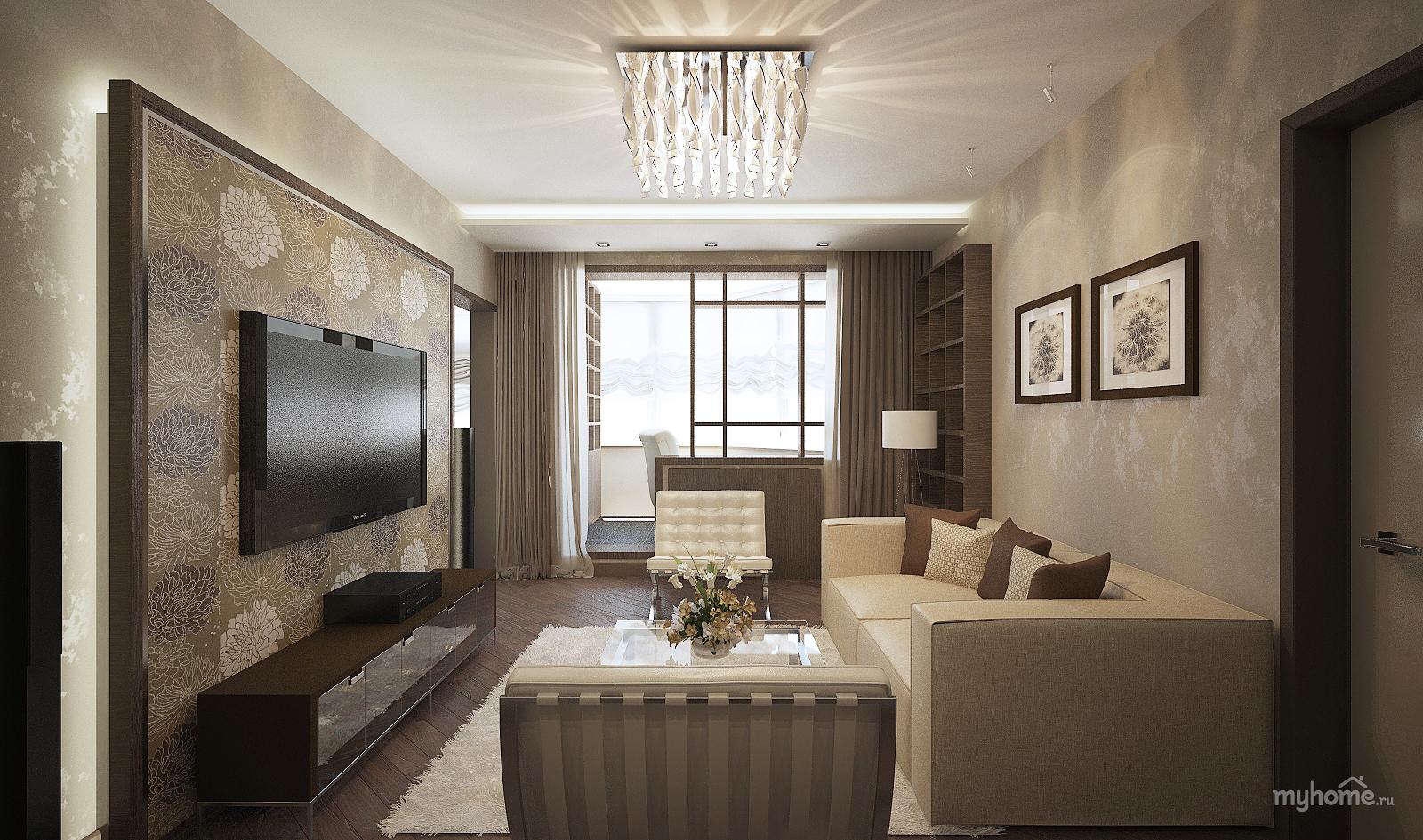 Дизайн квартир в доме п-44т