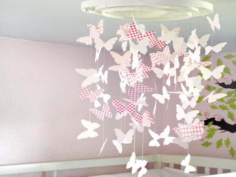 Украшения зала своими руками бабочки