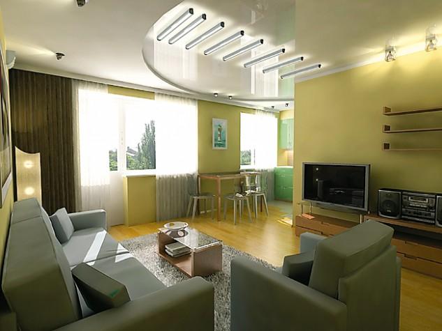 Дизайн трех комнатной хрущевки