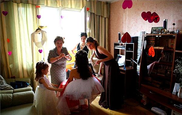 Украшение комнаты невесты на свадьбу своими руками