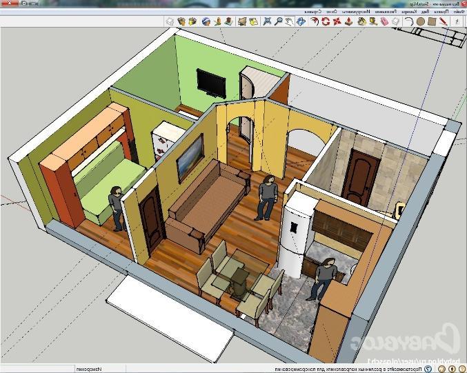 Дизайн 2 х комнатной хрущевке с