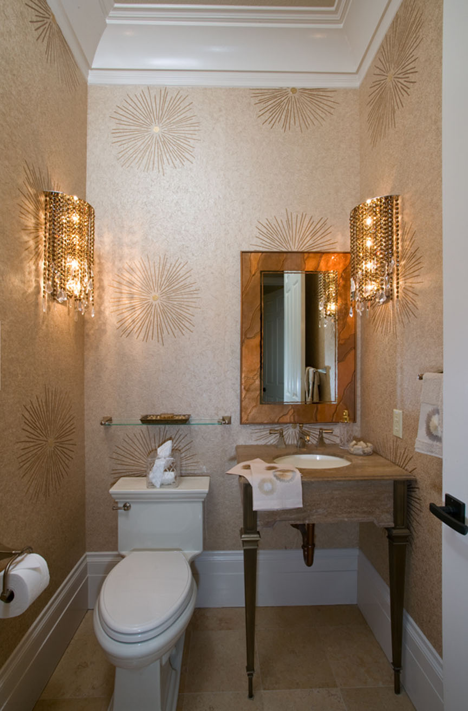 Туалетная комната интерьер фото