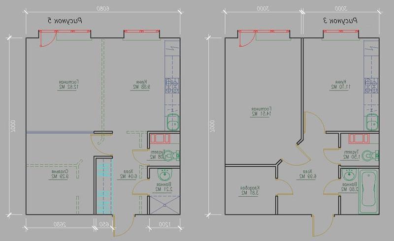 Как из однокомнатной квартиры п111м сделать двухкомнатную