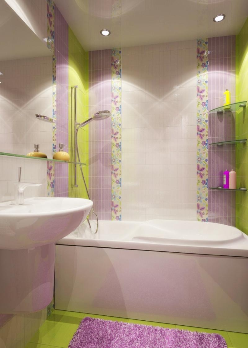 Плитка для маленьких ванных комнат дизайн