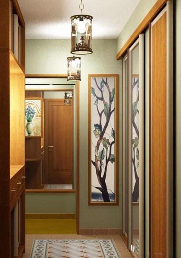 вариант коридоров в хрущевке фото