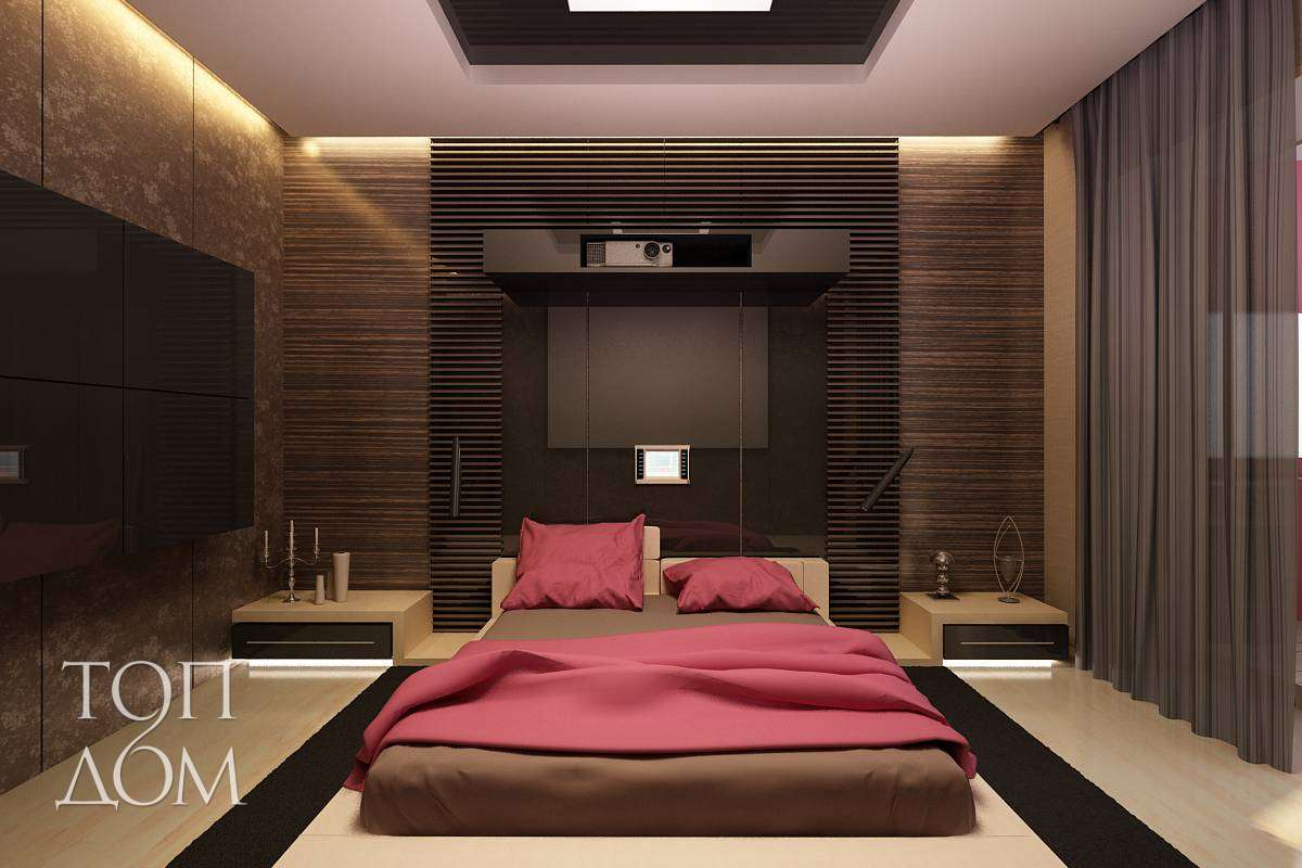 Интерьер спальни 4х4 фото