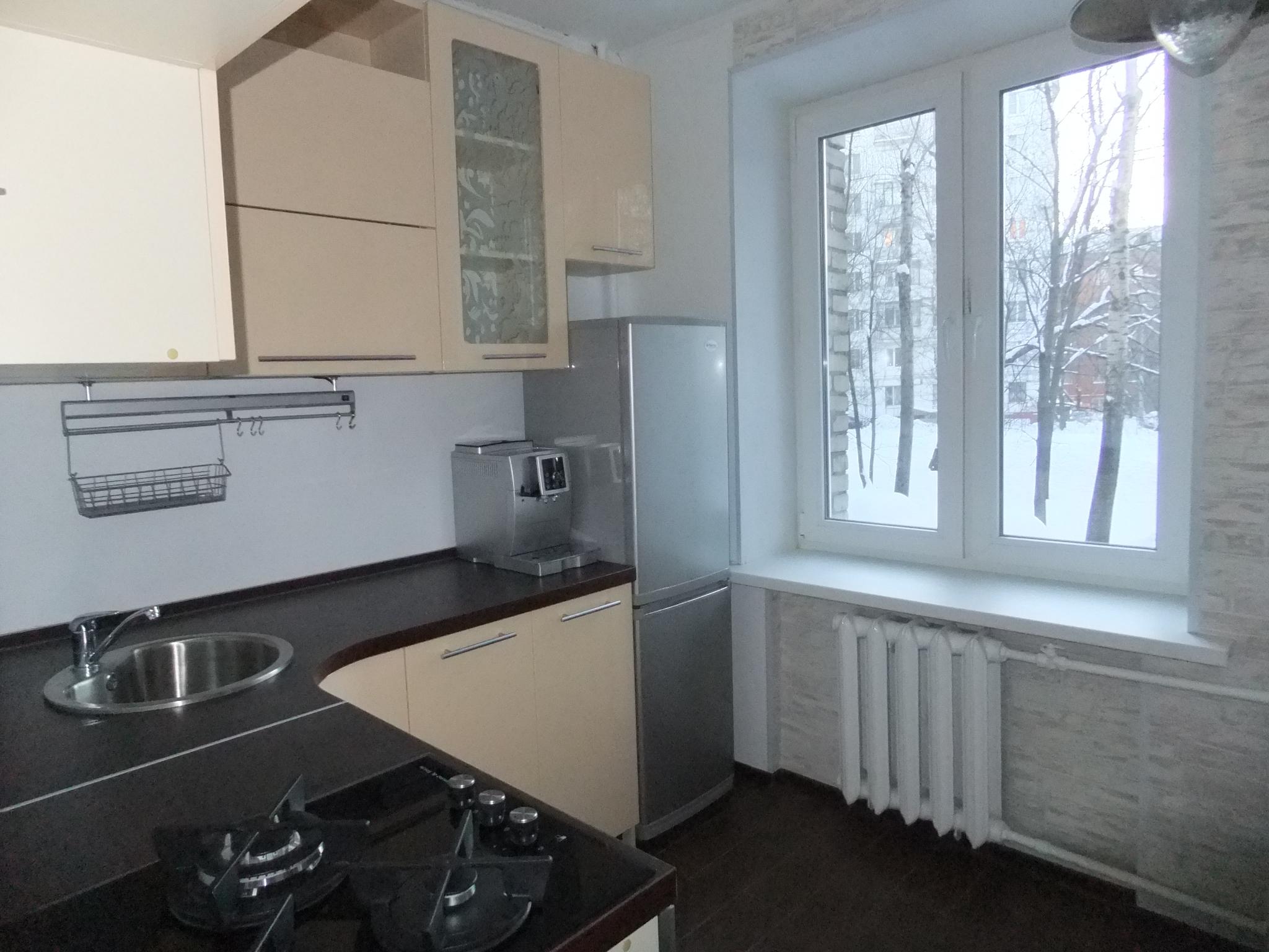 интерьер маленькой 6 кв.м кухни фото