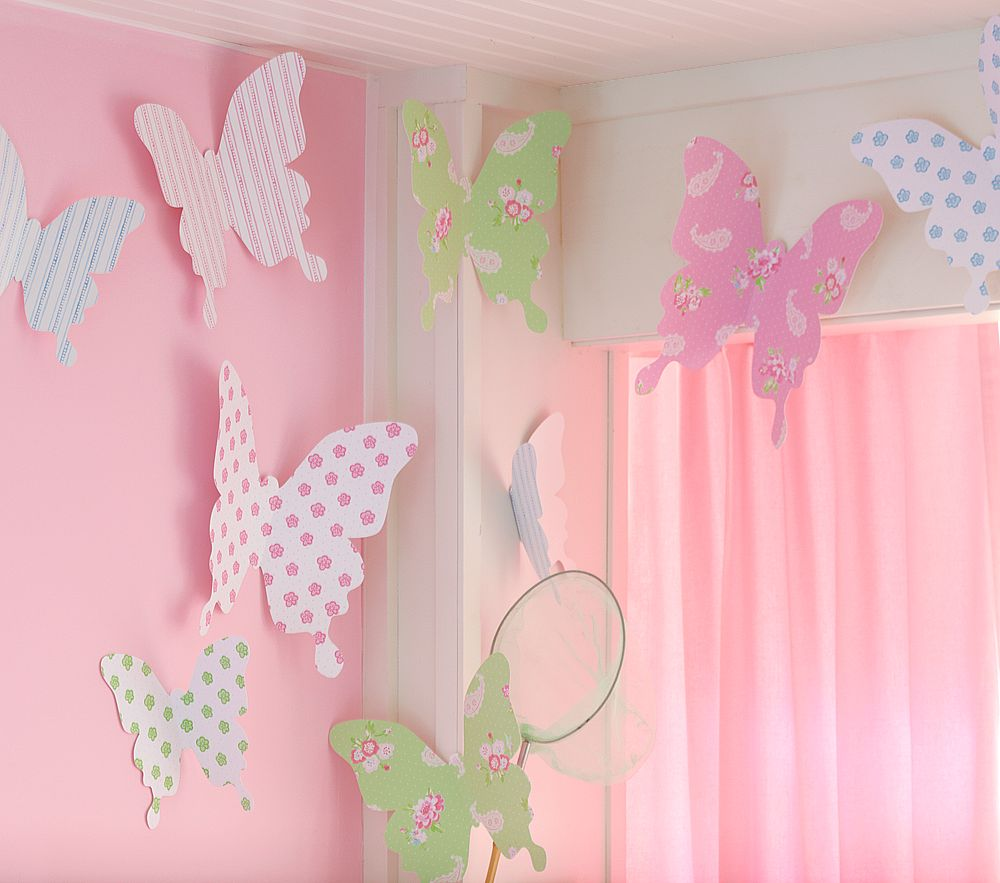 Как своими руками украсить комнату детскую