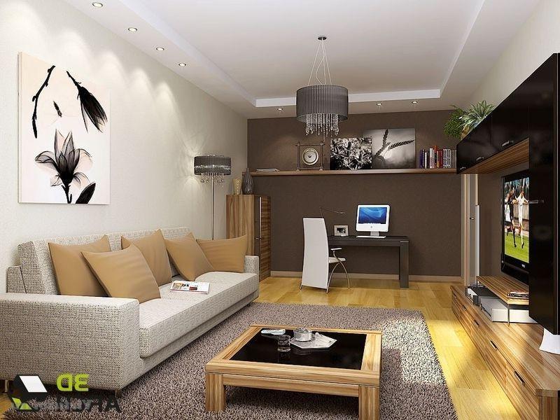 Гостиная интерьер дизайн 16 кв.м