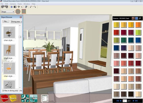 Программа по дизайну интерьера онлайн