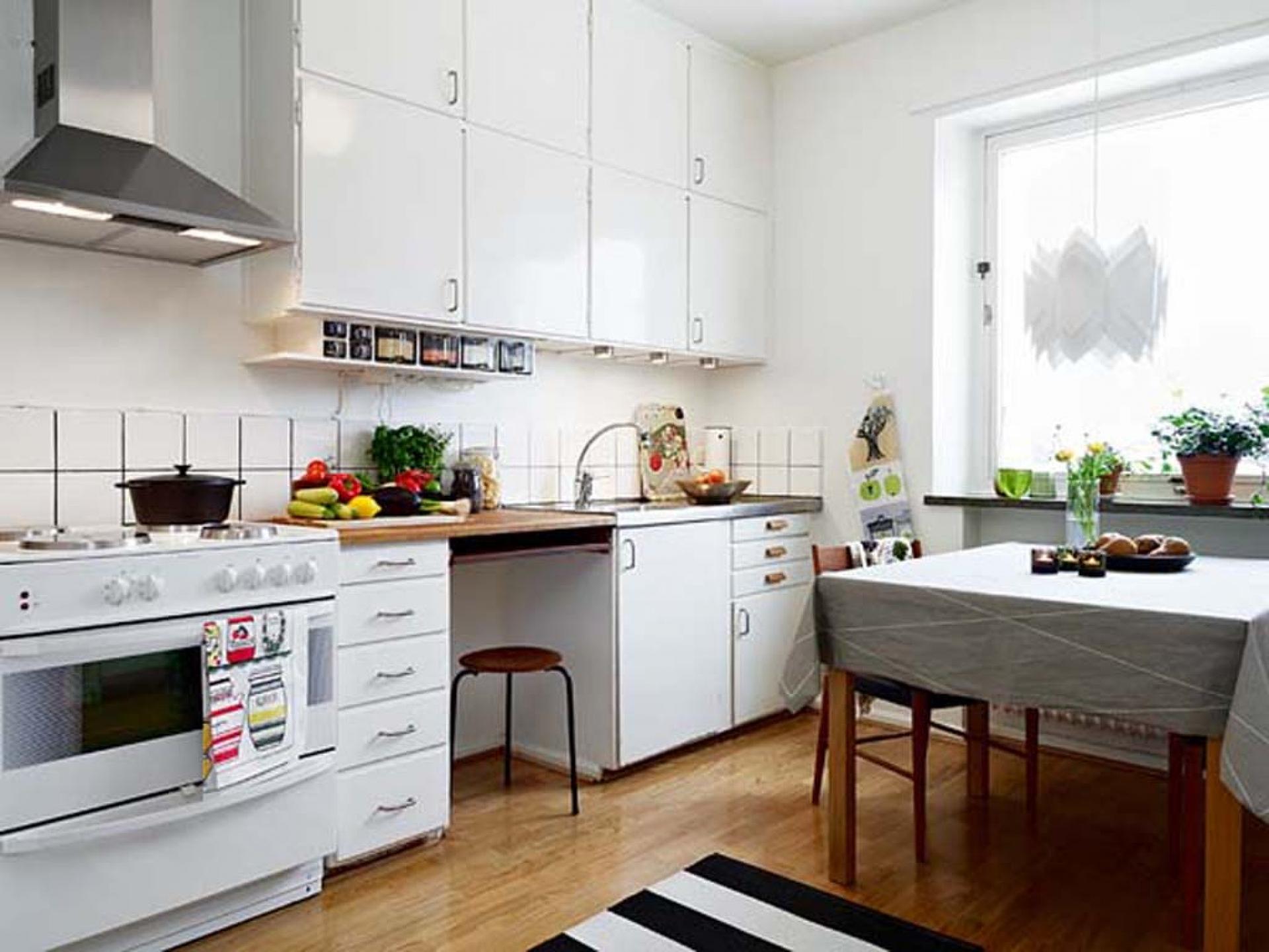 Интерьер для простой кухни фото