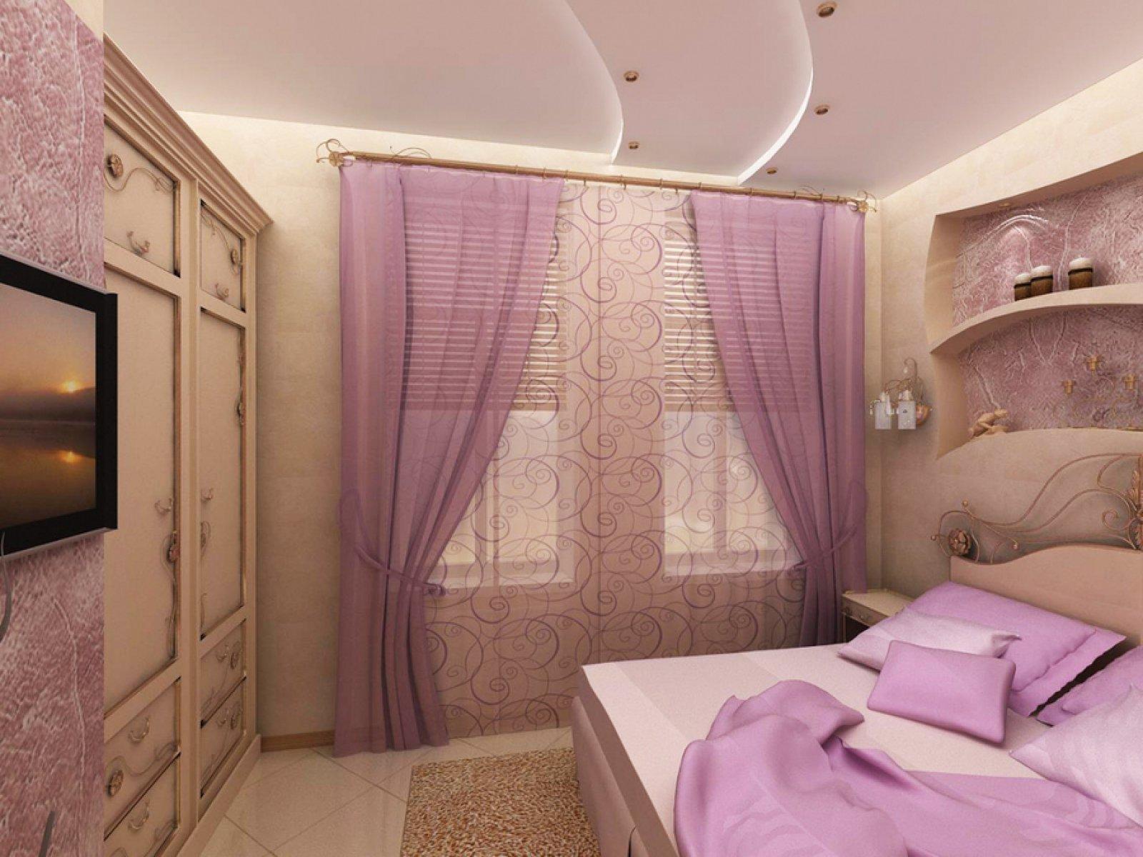 Ремонт малогабаритной спальни  фото
