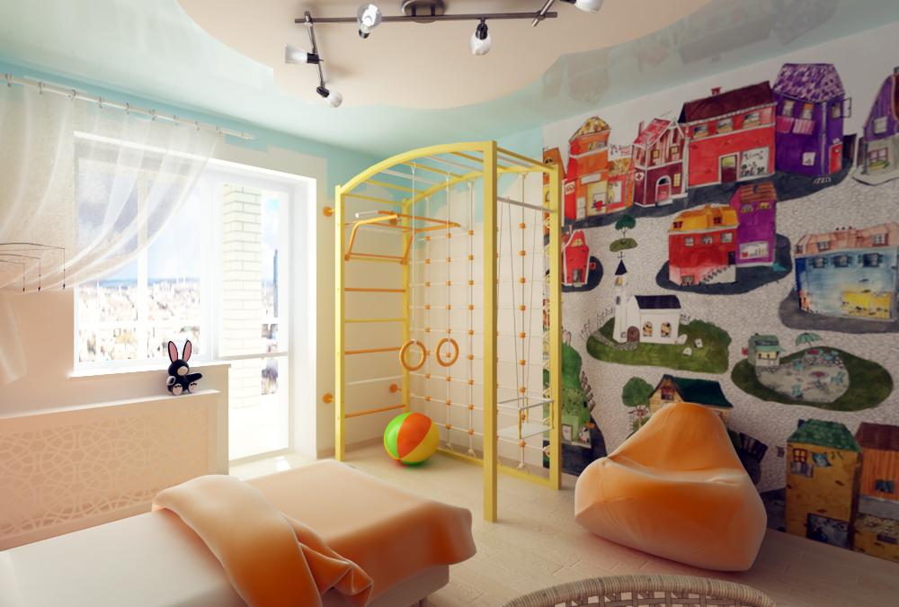 Оформление детской комнаты для мальчика своими руками фото