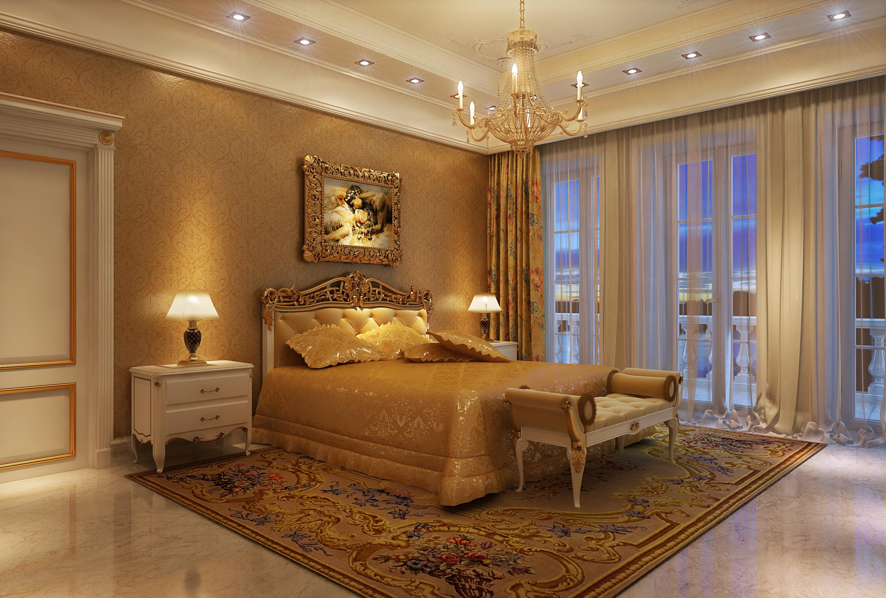 Спальная в частном доме дизайн