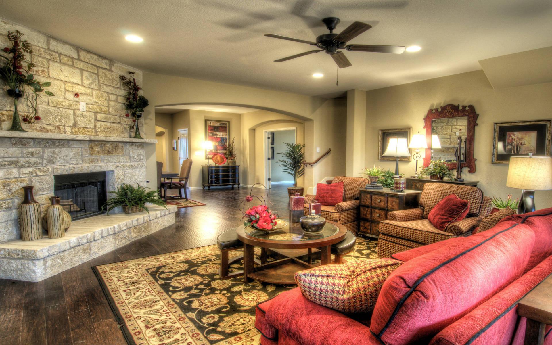 Интерьер и дизайн комнат в доме