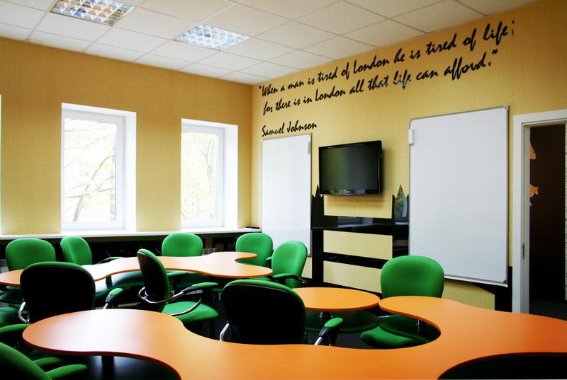 Дизайн интерьера учебного центра
