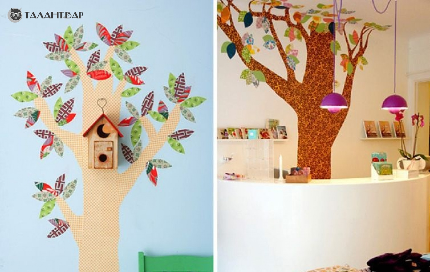 Как сделать дерево из потолочной плитки