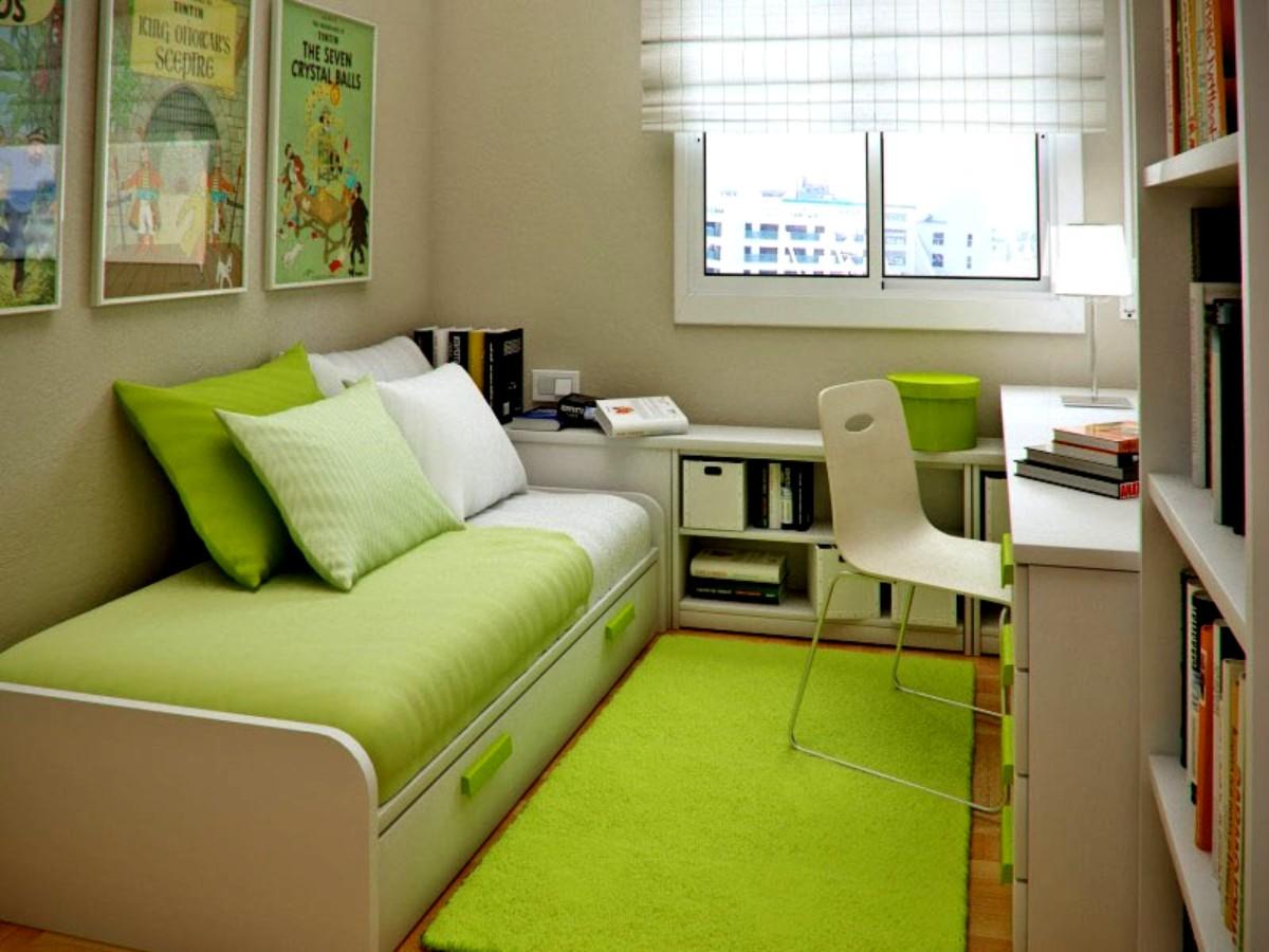 Идеи дизайна интерьера маленькой комнаты фото