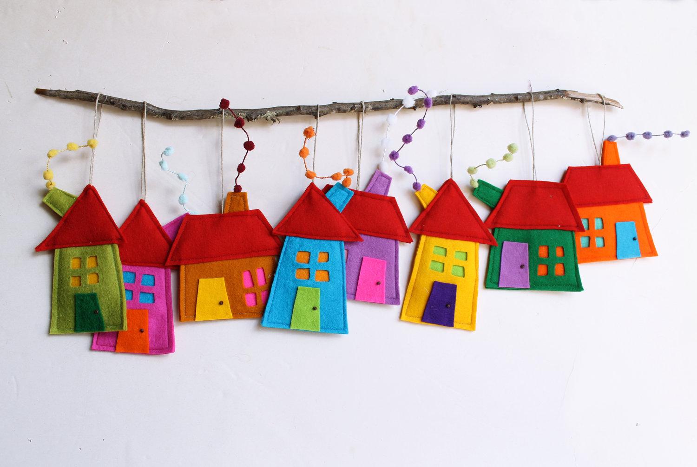 Украшения для детской комнаты своими руками из бумаги