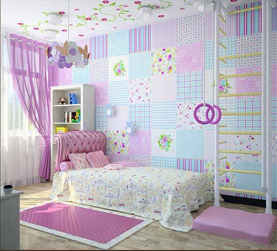 """Украшение для детской комнаты своими руками """" Картинки и фотографии дизайна квартир, домов, коттеджей"""