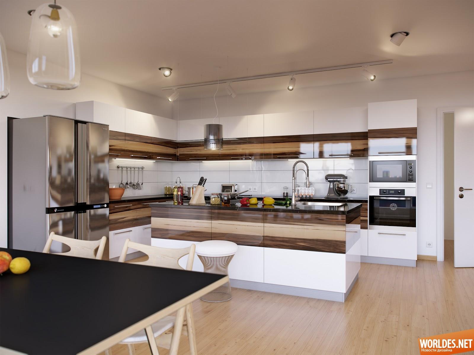 Лучшие интерьеры гостиного кухни