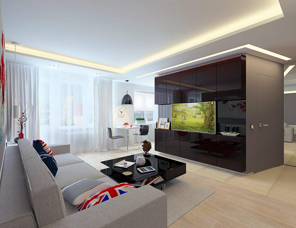 Квартира 44 кв м дизайн