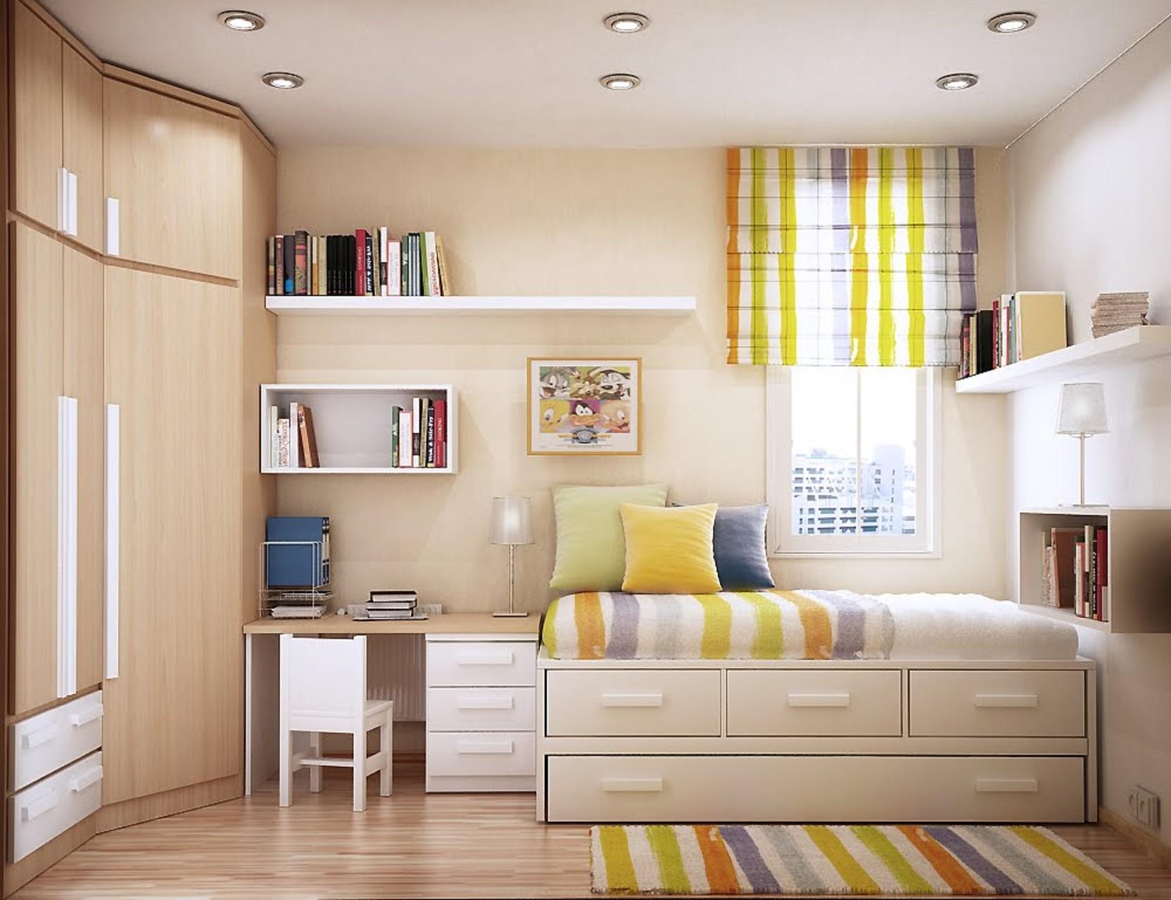 Как сделать маленькую комнату