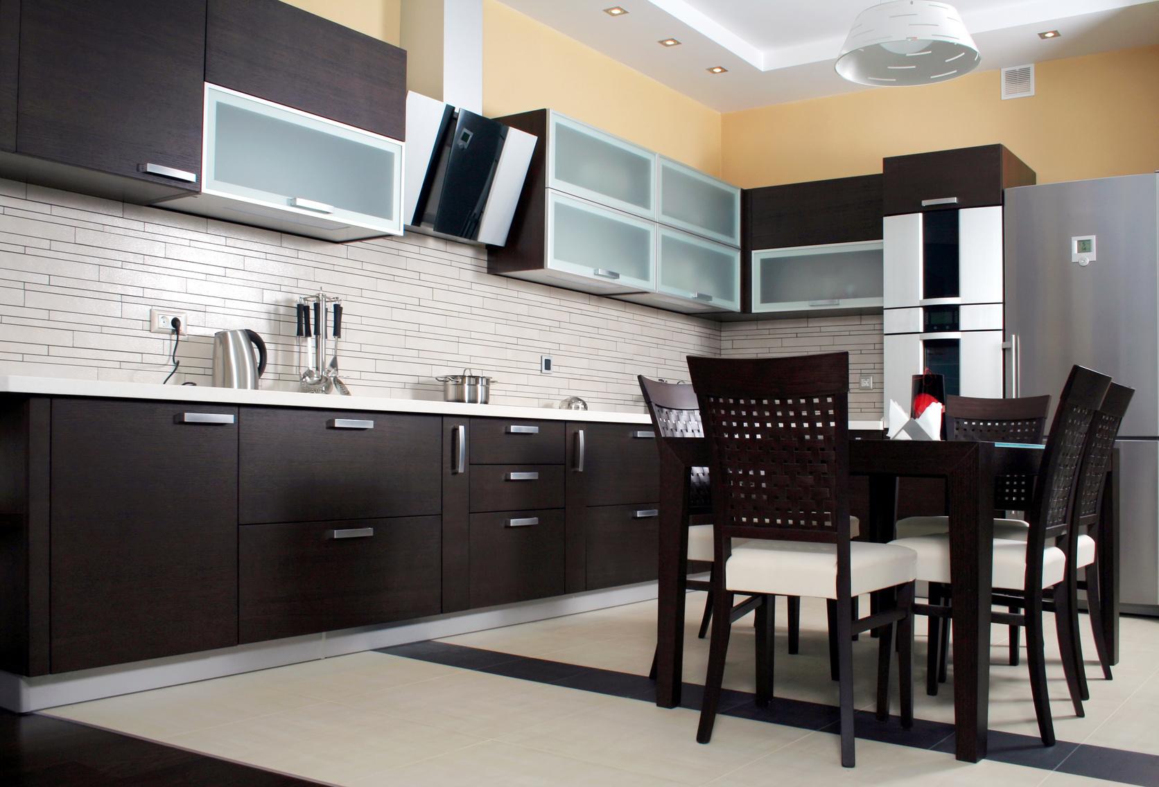Кухни фото дизайн венге
