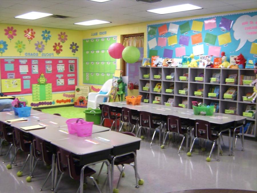 Оформление класса начальной школы