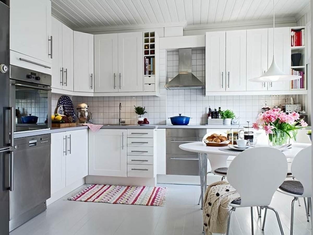 Интерьер скандинавская кухня фото
