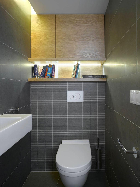 Раздельный туалет и ванна дизайн