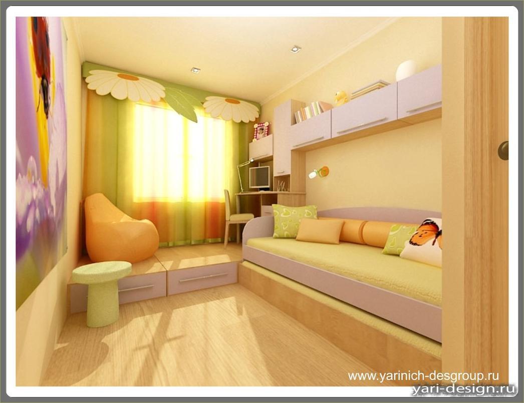 Дизайн комнаты для девочки 12 кв м фото