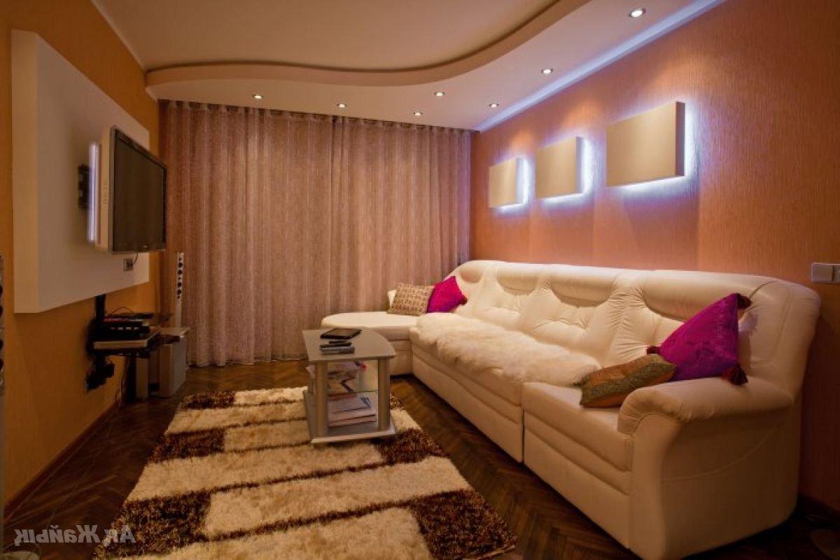 Дизайн комнаты в зале