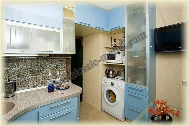 Дизайн кухни в корабле