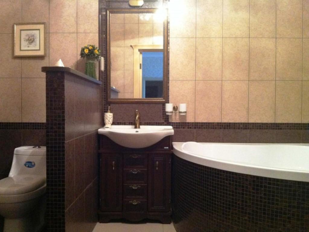 Ванная совместно с туалетом комната дизайн