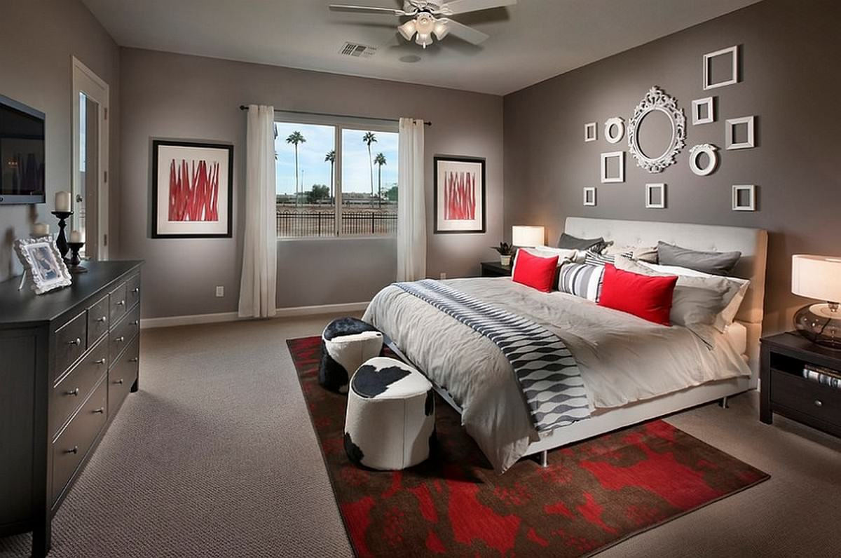 Дизайн комнат в серых тонах