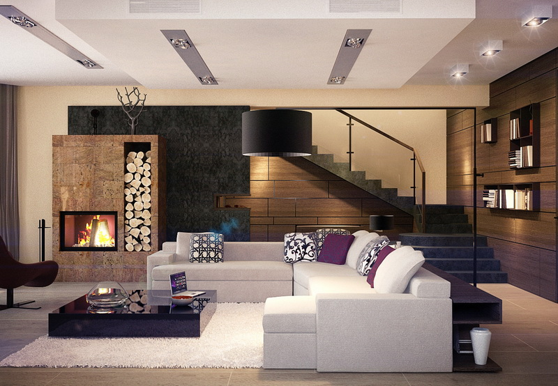 Проекты домов с дизайном интерьера фото