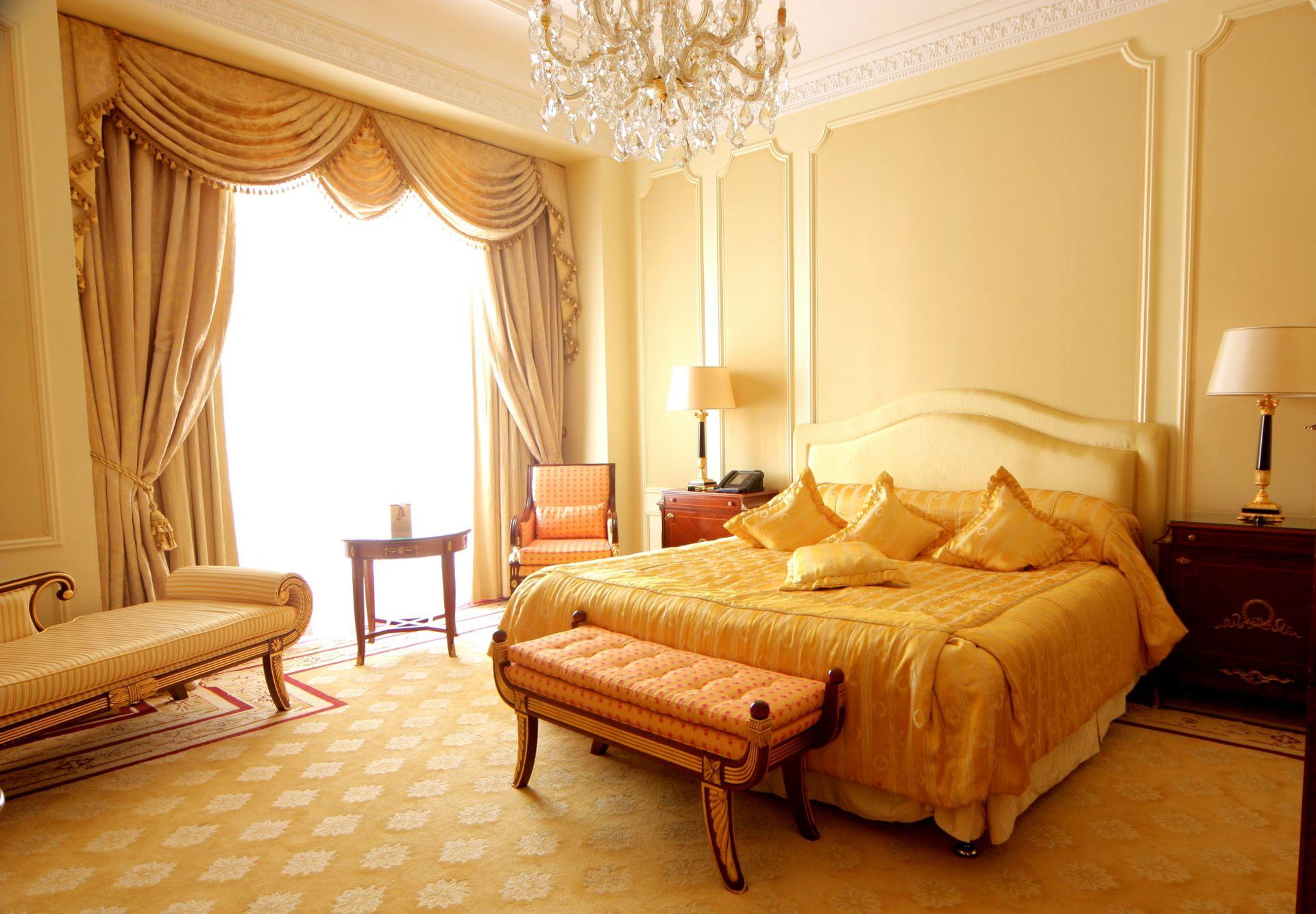 Интерьер комнаты-спальни фото