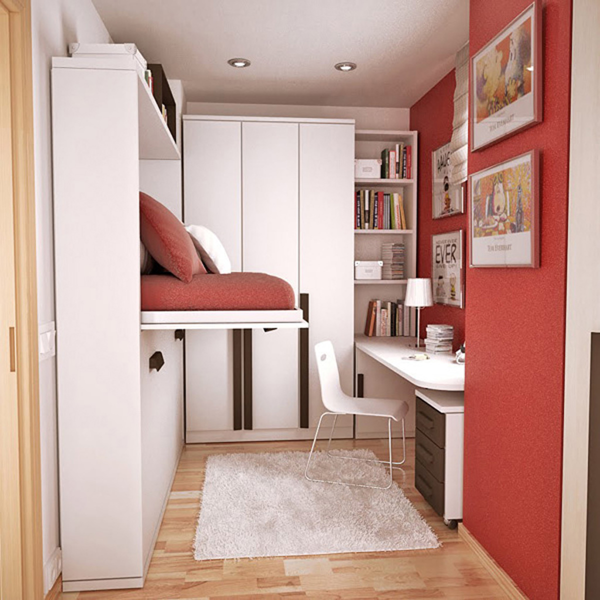 Дизайн интерьера для маленькой комнаты