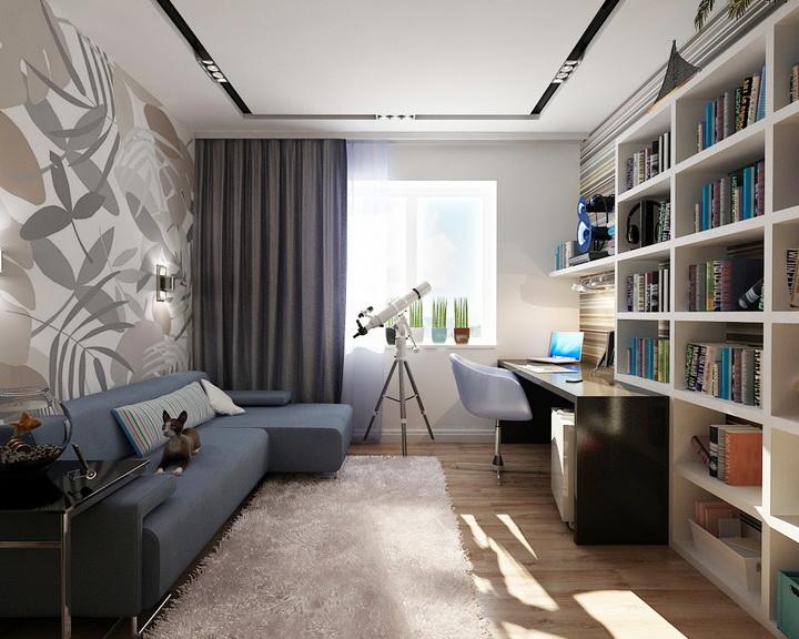 Комнаты для юношей дизайн