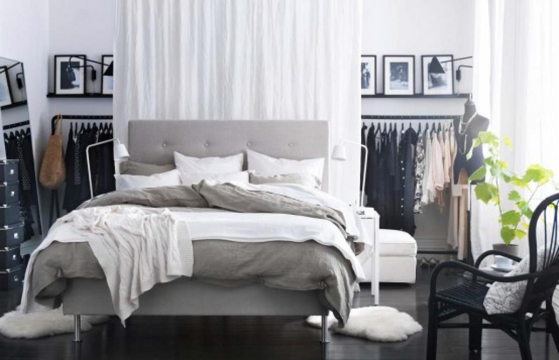 Икеа интерьеры спальни фото