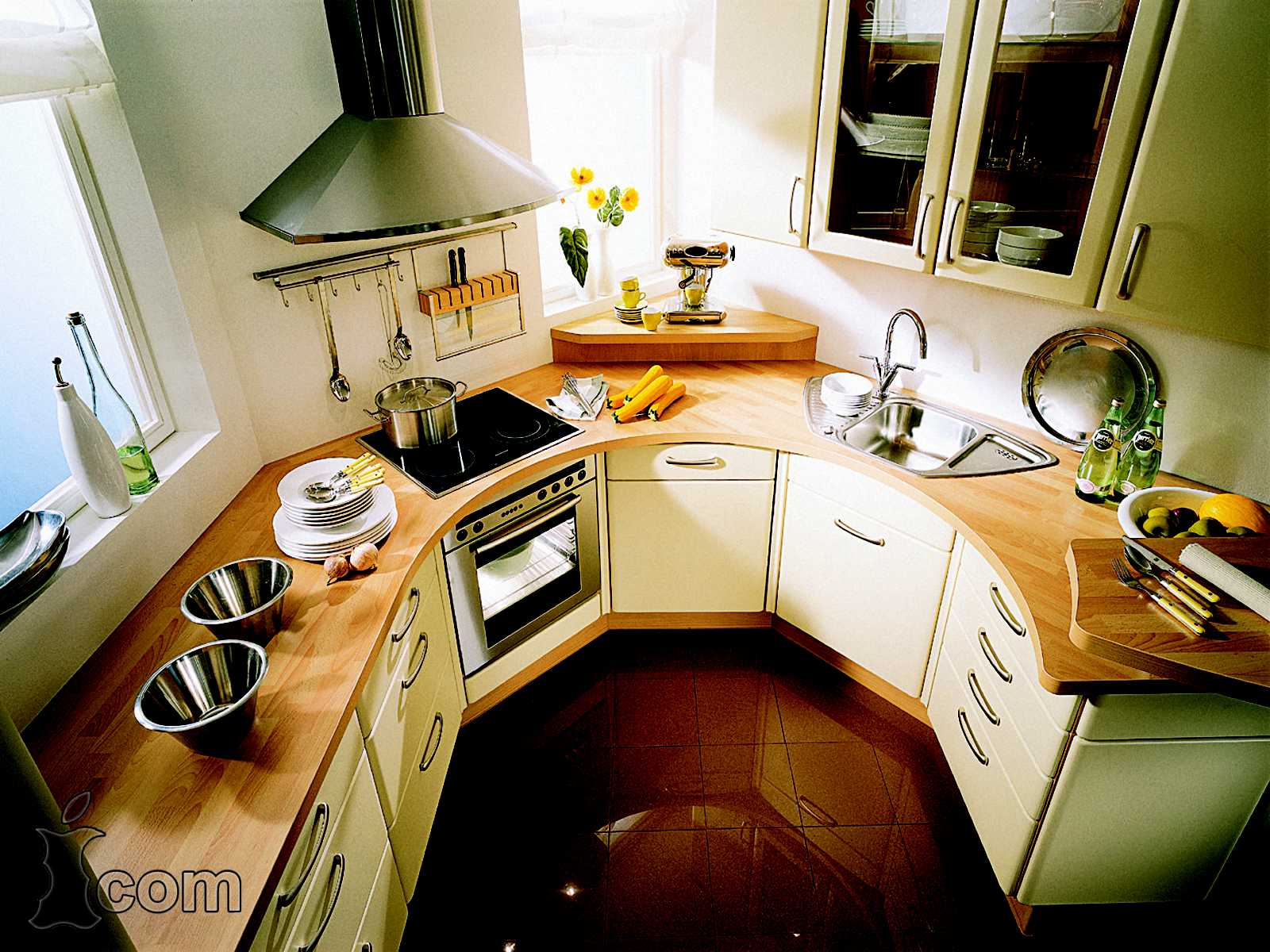 Фото дизайна маленькой кухни интерьер маленькой кухни