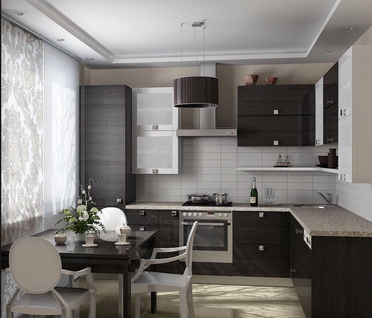 Дизайн кухни 9м2 современные идеи